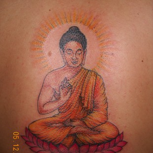 Enlightened Buddha tattoo